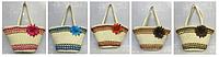 Пляжная сумка 1018 женская летняя соломенная разные цвета