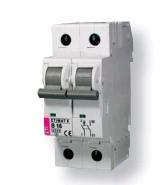 Авт. выключатель ETIMAT 6  2p В 10А (6 kA)