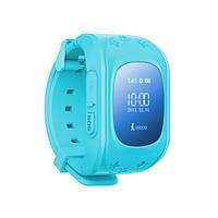 Детские умные GPS часы Smart Baby Watch Q50 с трекером отслеживания (синие). РУССКИЙ ЯЗЫК!