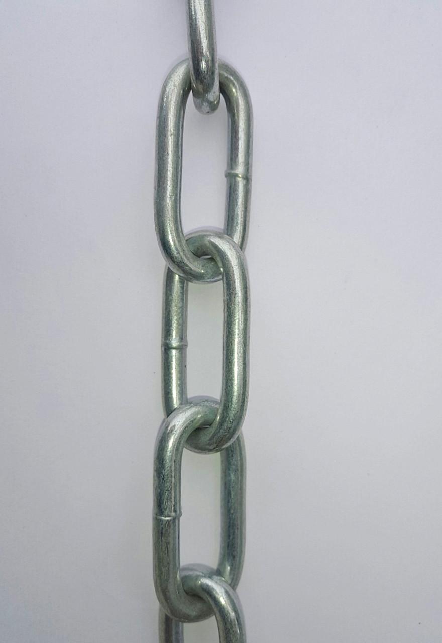 Ланцюг довголанковий Ø 5 мм ➡️ Моток 10 метрів ➡️ Ланцюг оцинкована довге ланка ➡️ Ланцюг довголанковий