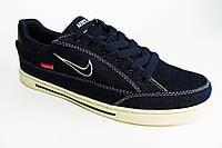 Мужские повседневные кроссовки Nike Supreme, джинсовые, синие Р. 42 43 44 45