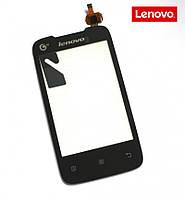 Сенсорный экран (touchscreen) для Lenovo A218t, оригинал (черный)