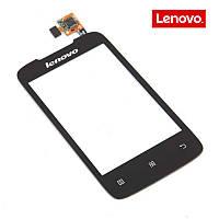 Сенсорный экран (touchscreen) для Lenovo A269i, оригинал (черный)