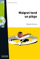 B2 Maigret tend un piege + CD audio MP3 (Simenon), фото 1