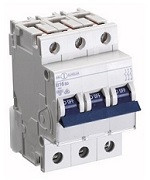 Автоматический выключатель автомат 40 A ампер 10kA Германия трехфазный трехполюсный B В характер цена купить