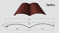 Блок - хаус ( бревно ) Сайдинг из стали 0,45мм с полимерным покрытием