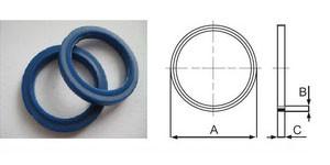 Уплотнительные кольца полиуретановые маслобензостойкие, для фланцевых соединений (Италия)