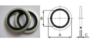 Уплотнительные кольца металл, резина, маслобензостойкие (Италия)