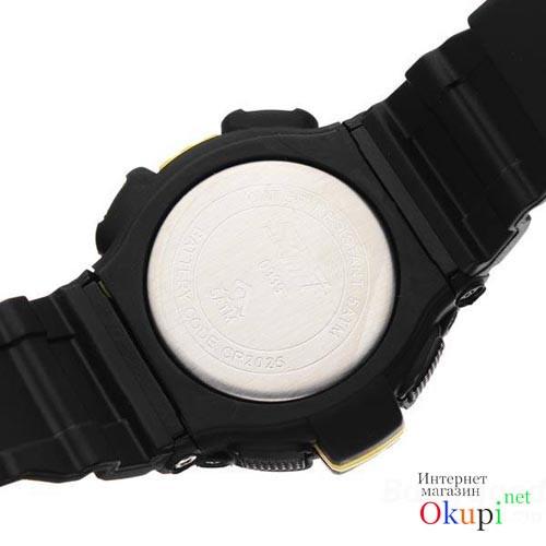 Спортивные мужские часы SKMEI S-SHOCK 0939 с подсветкой циферблата,  водонепроницаемые наручные часы d3c79a94f7f