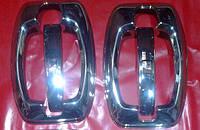 Fiat Ducato 2006+ накладки на ручки + мыльнички (8 деталей) нерж