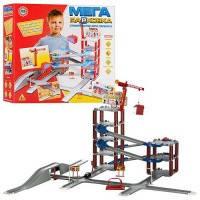 Детские игрушечные гаражи, треки, здания