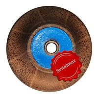 Алмазная фреза для резки фигурной фаски на камне габбро и мраморе H30 №3.