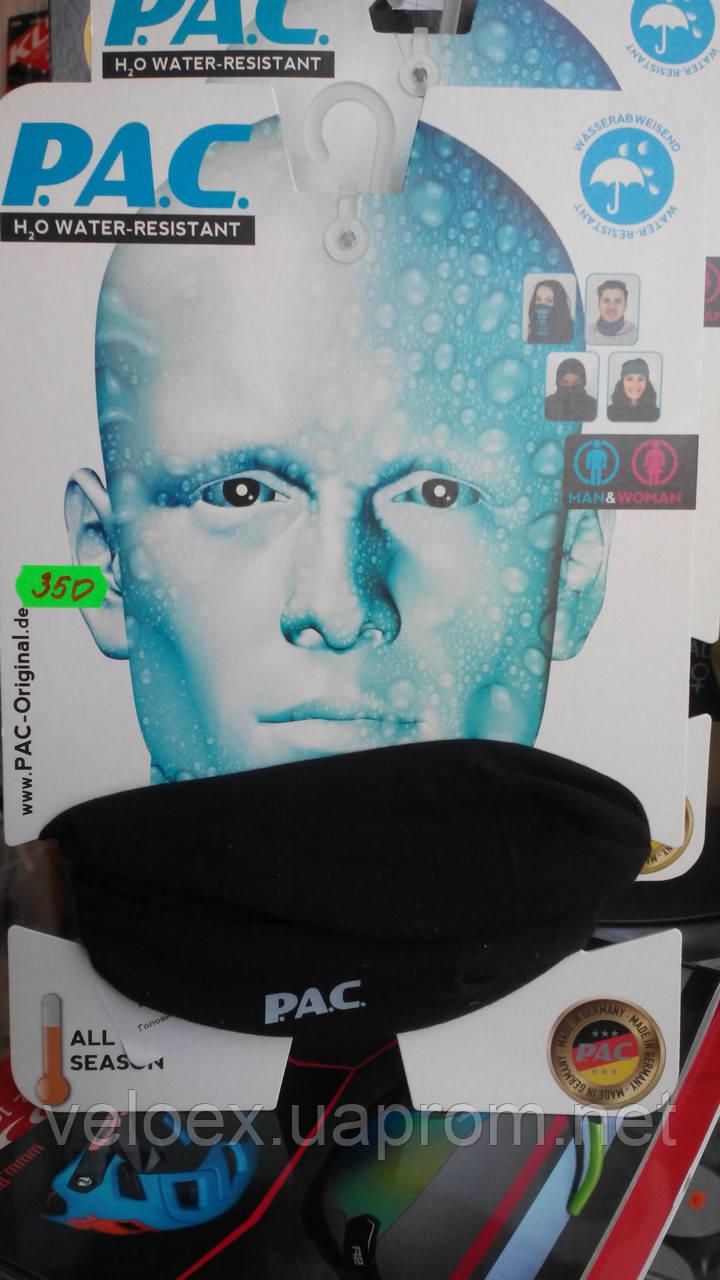 Головной убор P.A.C. H2O Total Black