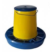 Кормушка бункерная автоматическая для домашней птицы, 6 кг (упаковка 5 шт)