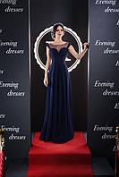 Нежное вечернее платье с   необычайным прозрачным верхом