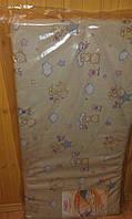 Матрас кокосовый 3-х слойный в детскую кроватку 120х60