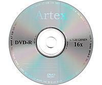 Диск DVD-R для видео Artex 16x Bulk/50