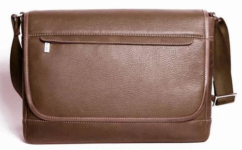 Деловая сумка Месенджер через плечо ISSA HARA BM5 (12-32) коричневый