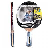 Тенісна ракетка Donic Woldner Line Level 800.