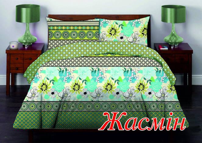 Комплект постельного белья Евро HomeLine Бязь 200х220 ЖАСМИН 200х220 нав 50х70 , фото 2