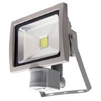 Светодиодный прожектор с датчиком движения 30W , фото 1