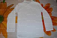 Водолазка детская,белая,р.116-122, 120-125.ХБ.