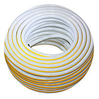 Шланг газовый в оплетке Evci Plastik 9мм 50м