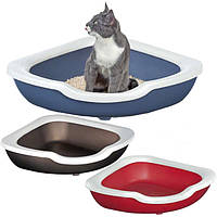 Imac Fred АЙМАК ФРЭД угловой открытый туалет для кошек