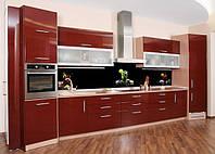 Стеклянная кухонная панель Мохито, Лед, Чай. Фотопечть на стекле. Кухонный фартук в Днепре. Доставка. Монтаж