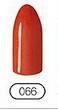 Гель-лак CND 's, оранжевый ( мандариновый гель-лак с микроблестками, плотный) гл-066