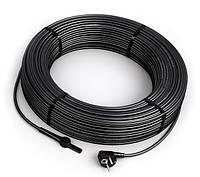 Нагревательный кабель Hemstedt DAS 16м. Двужильный нагревательный кабель 30 Вт/м со встроенным термостатом, фото 1