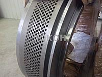Ремонт матриц грануляторов. Реставрация матриц