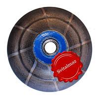 Алмазная фреза для резки фигурной фаски на камне габбро и мраморе O30 №3.