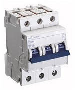 Автоматичний вимикач автомат 63 A ампер 10kA Німеччина трьохфазний трьохполюсний C С характер ціна купити , фото 1