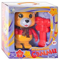 TG Медвежонок 2084/T42-D166 Сэмми р/у,интерактивная,мышка, музыкальная, свет
