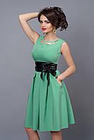 Платье  мод 386-12 размер 46 яблоко