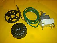 Терморегулятор температуры FSTB ( SANAL ) 30-110 С° капилярный 16 А / 250 В. производство Турция
