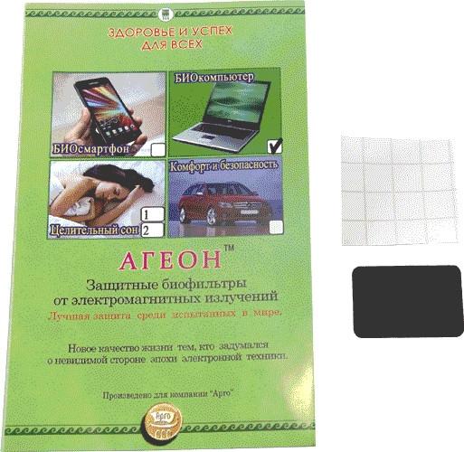 Агеон БИОкомпьютер, биофильтр защитный от электромагнитных излучений компьютеров