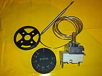 Терморегулятор температуры FSTB ( SANAL ) 50-320 С° капилярный 16 А / 250 В. производство Турция