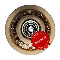 Алмазная фреза для резки фигурной фаски на камне габбро и мраморе четверть круга R10 №00 без воды на болгарку