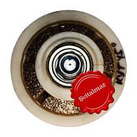Алмазная фреза для резки фигурной фаски на камне габбро и мраморе угол 45 градусов R10 №00 без воды на болгарк