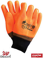 Перчатки защитные утепленные, покрытые ПВХ RFREEZER-S P