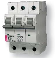 Авт. выключатель ETIMAT 6  3p B 13А (6 kA)