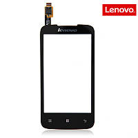 Touchscreen (сенсорный экран) для Lenovo A376, оригинал (черный)