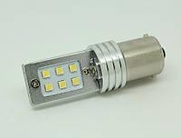 Светодиодная автолампа 1156(BA15S), 12W (500Lm) Samsung LED(SMD2323) одноконтактная
