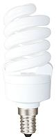 Лампа DELUX T2 Full-spiral 15Вт 6400К Е14, энергосберегающая
