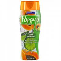 Шампунь для блеска волос Папайя и Лайм 400 мл Freeman(США)
