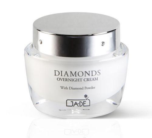 Ночной крем с бриллиантовым порошком для всех типов кожи 50мл GA-DE