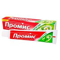 Зубная паста с фтором и кальцием ПРОМИС с экстрактом трав, Дабур, 100г