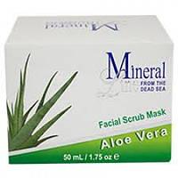 Маска-скраб для лица с Алоэ Вера Mineral Line